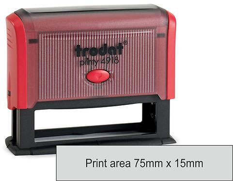 Trodat Printy 4918 - 75mm x 16mm