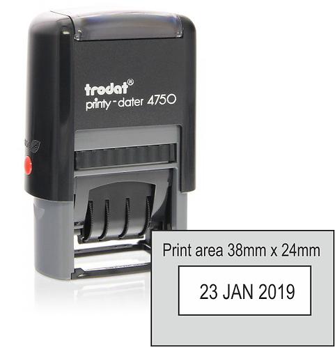 Trodat Printy Dater 4750 - 40mm x 24mm