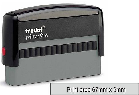 Trodat Printy 4916 - 68mm x 9mm