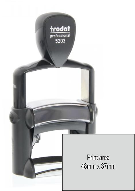 Trodat Professional 5203 - 48mm x 27mm