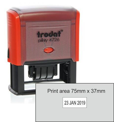 Trodat Printy Dater 4726 - 72mm x 35mm