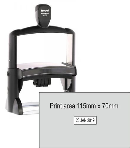 Trodat Professional Dater 54120 - 115mm x 70mm