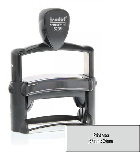 Trodat Professional 5205 - 68mm x 24mm