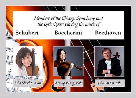 Chicago Strings ad for Thursday Blast an