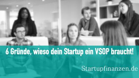 6 Gründe, wieso dein Startup ein VSOP braucht!