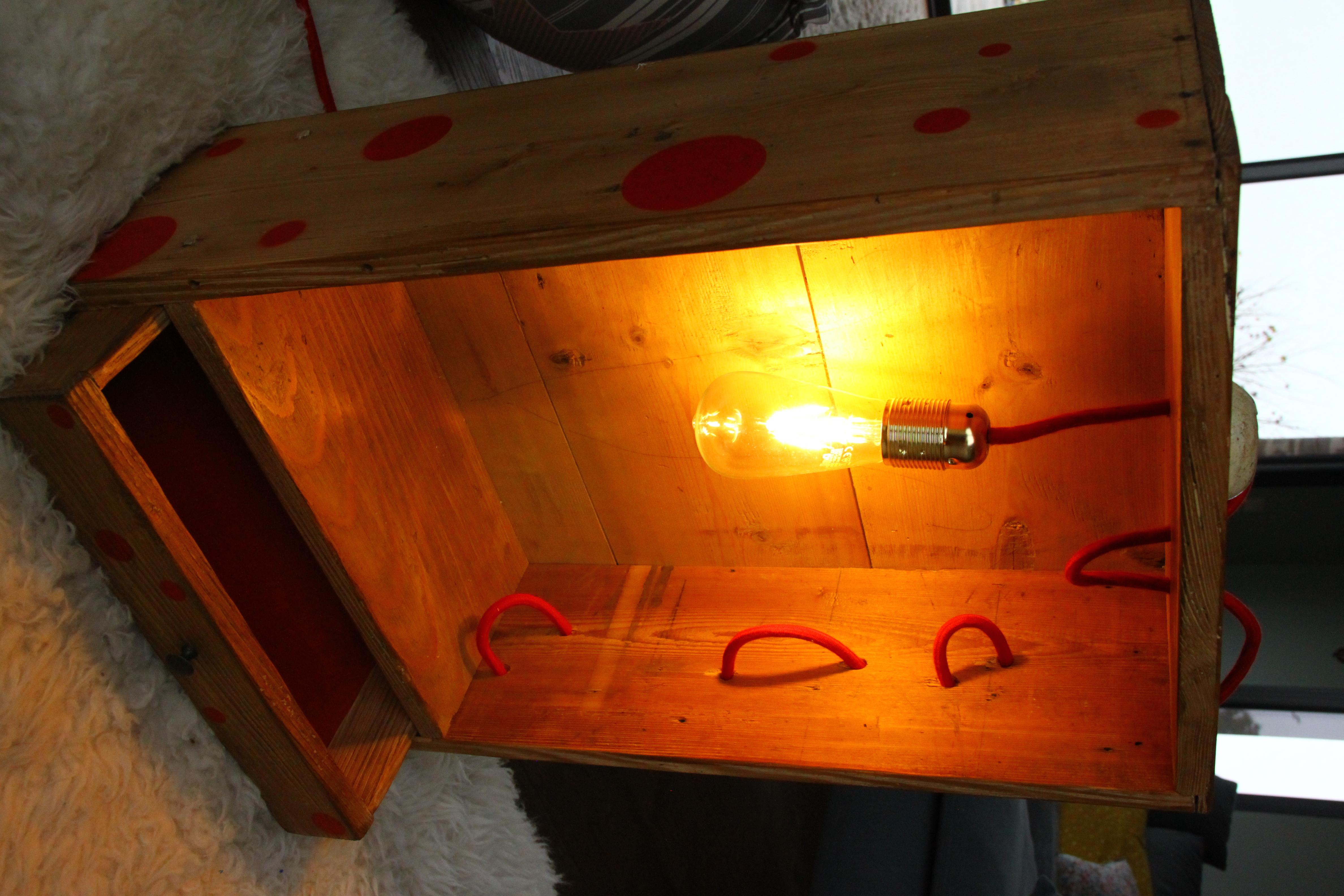 lampe chêne