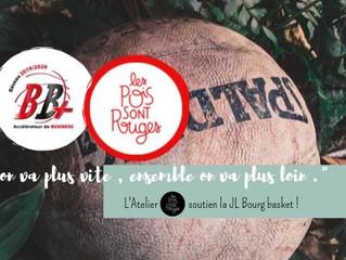 Ensemble avec la JL Bourg Basket !