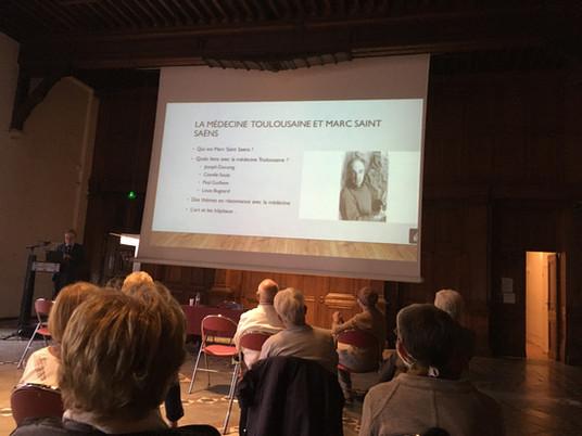 Conférence « Marc Saint-Saens et les médecins toulousains contemporains » par le Pr Laurent Schmitt