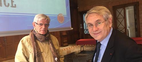 """Conférence « Histoire de la chirurgie. Son rôle dans la genèse et le fonctionnement du SAMU."""""""