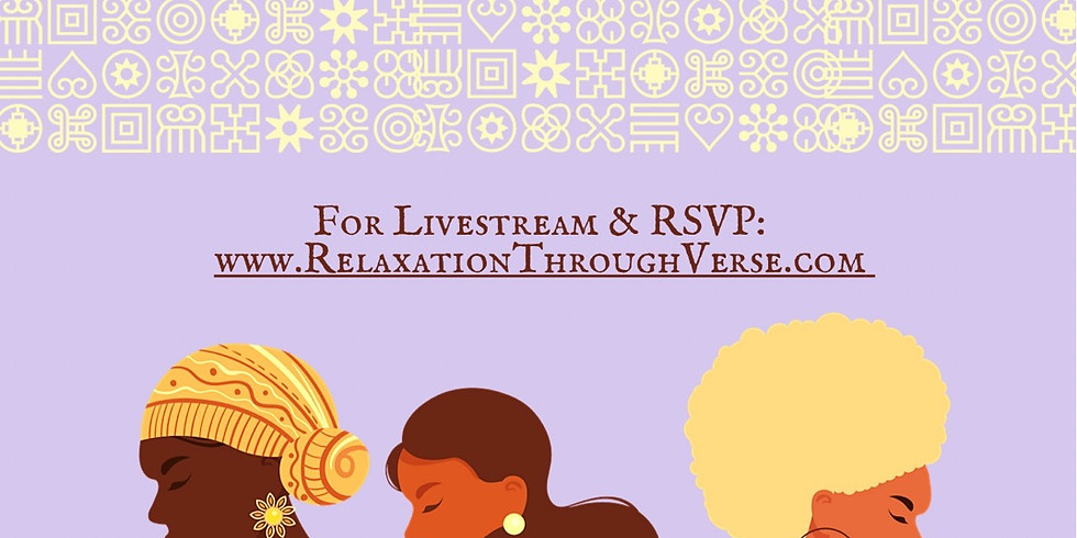 A Relaxation Through Verse Celebration of International Women's Day