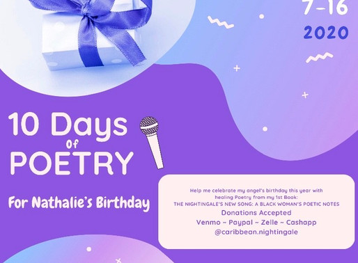 10 Days of Poetry for Nathalie