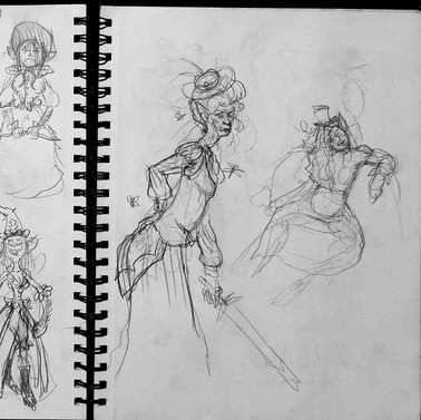 Puck Sketches