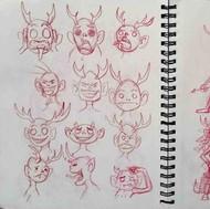 Wematekan'is Sketches