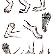 Slim Rigen Feet