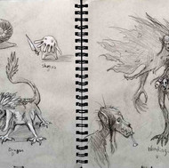 Monster Sketches 1