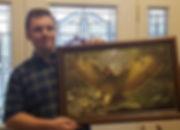 Just had my painting Thunderbird framed