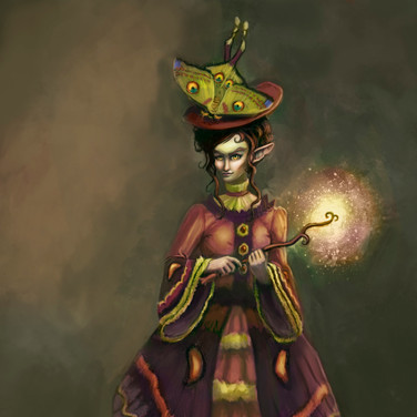Concept art: Female Daoine Sidhe