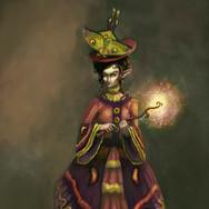 Concept art: Female Daoine Sidhe