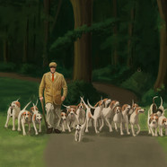 Master and his Hounds