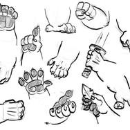 Large Rigen Hands