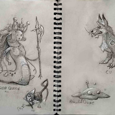 Monster Sketches 2