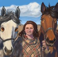 Cartoon: Horse Portrait