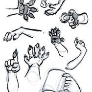 Slim Rigen hands