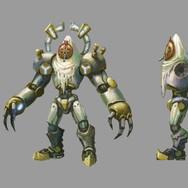 Godly Robot Character Sheet
