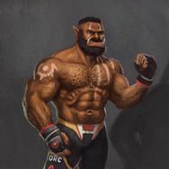 MMA Half-Orc