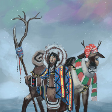 Concept Art: Inuit Druid