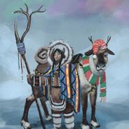 Concept Art: Inuit Druid