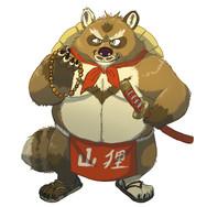 Tanuki Samurai