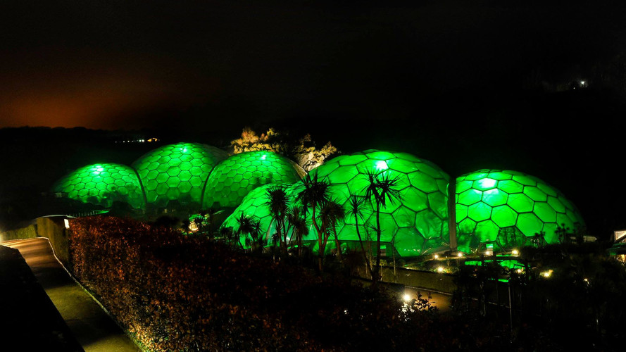 Eden Project Christmas GLX Productions L