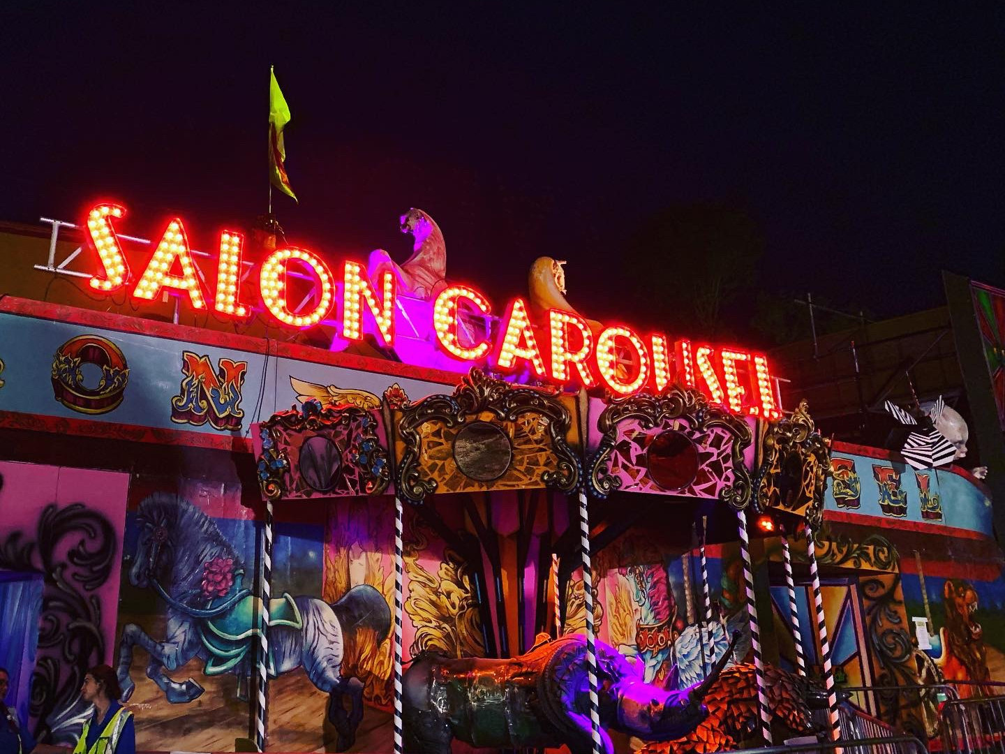 Glastonbury Unfairground Lighting by GLX