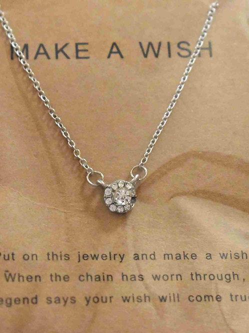 Necklace - Make a wish jewellery