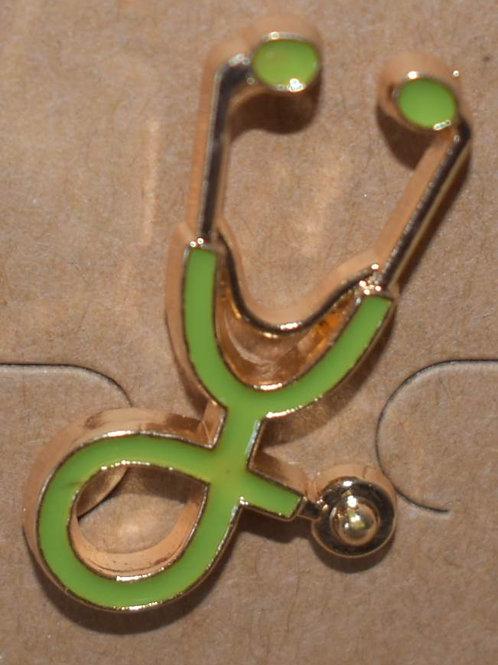 Lapel Pin - Goldtone - assorted colours