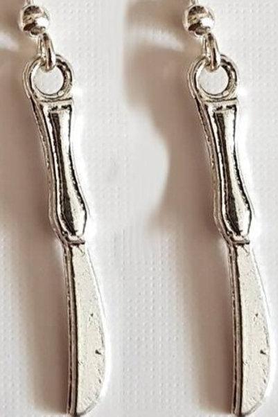 Earrings - Cutlery