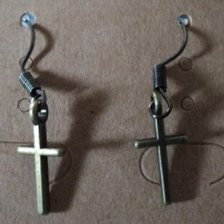 Earrings - Crosses