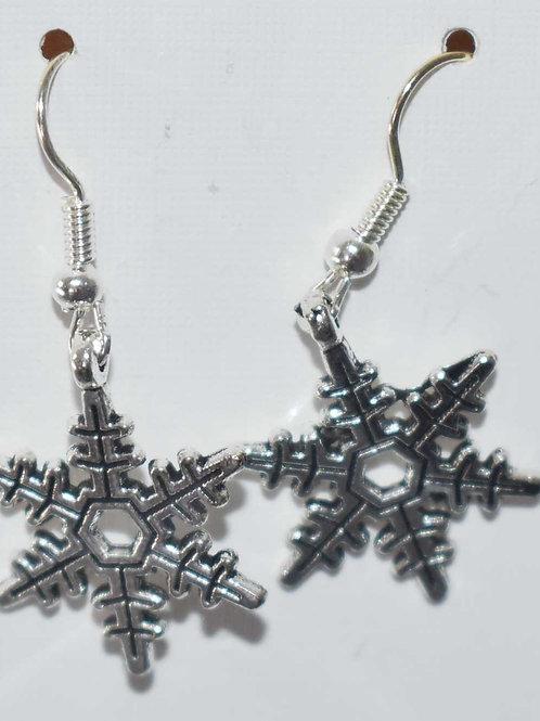 Christmas Earrings - snowflakes