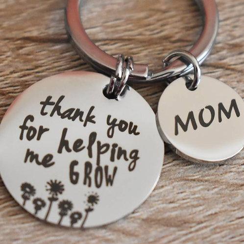 Keyrings: Choice of Mom or Dad