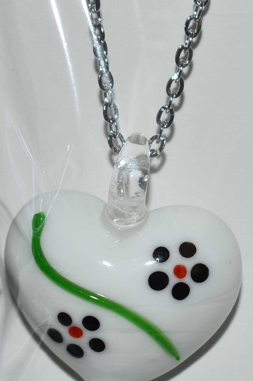 Necklace - Lampwork Hearts