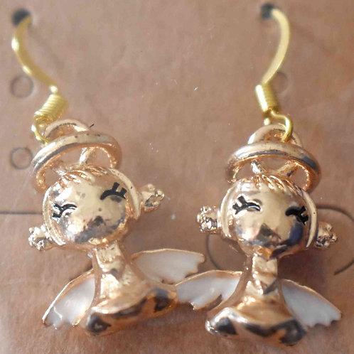 Earrings - Angels
