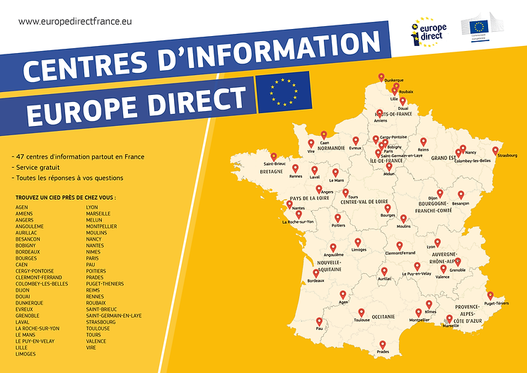 Centres d'infomation Europe Direct