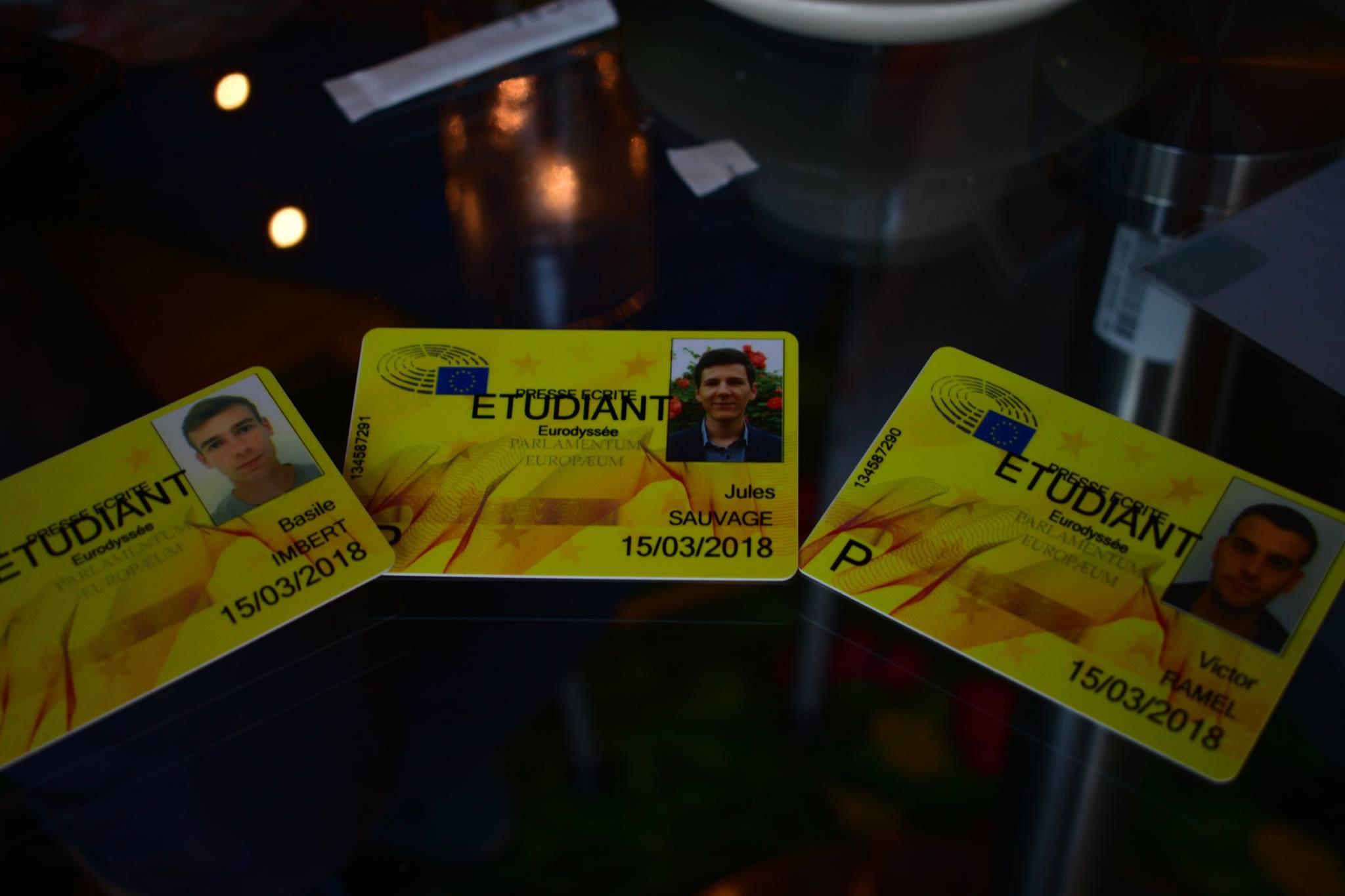 Eurodyssée badges