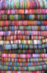 Tissu d'ameublement multicolore mexicain - Ton sur Ton Tours