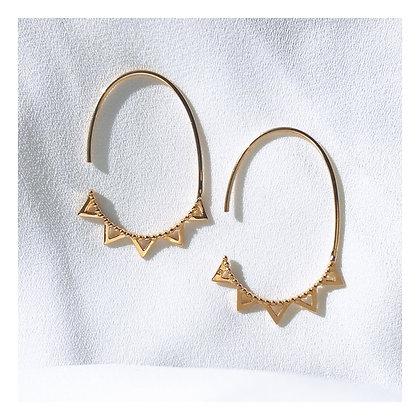 Boucles d'oreilles Domitille