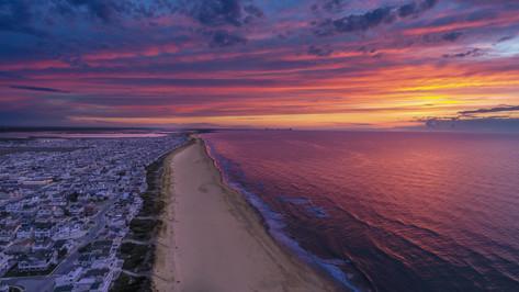 Colorful Beach Sunrise