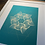 Thumbnail: Metallic bronze / Marrs green - Framed