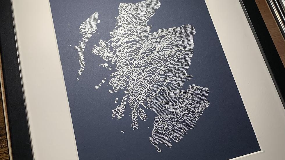 Scotland - Framed