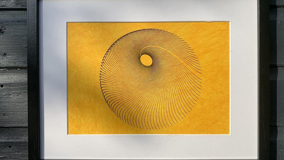 Black Spiral / Yellow